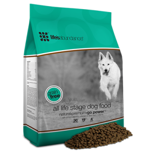Grain free dog food, all life stages dog food