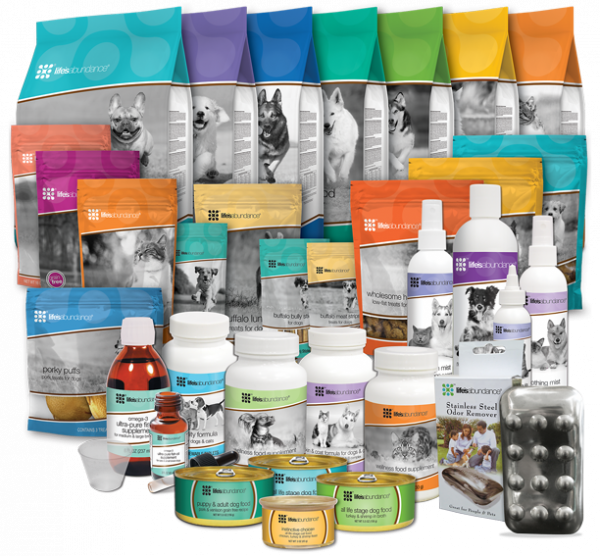 Life's Abundance Pet Products